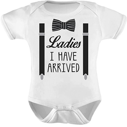 Bowtie Onesie Middle Georgia Kids