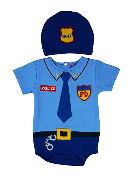 Police Onesie Middle Georgia Kids