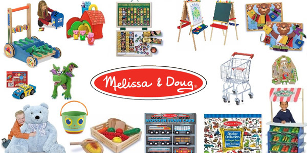 Melissa & Doug 40 Percent off! Ends soon!