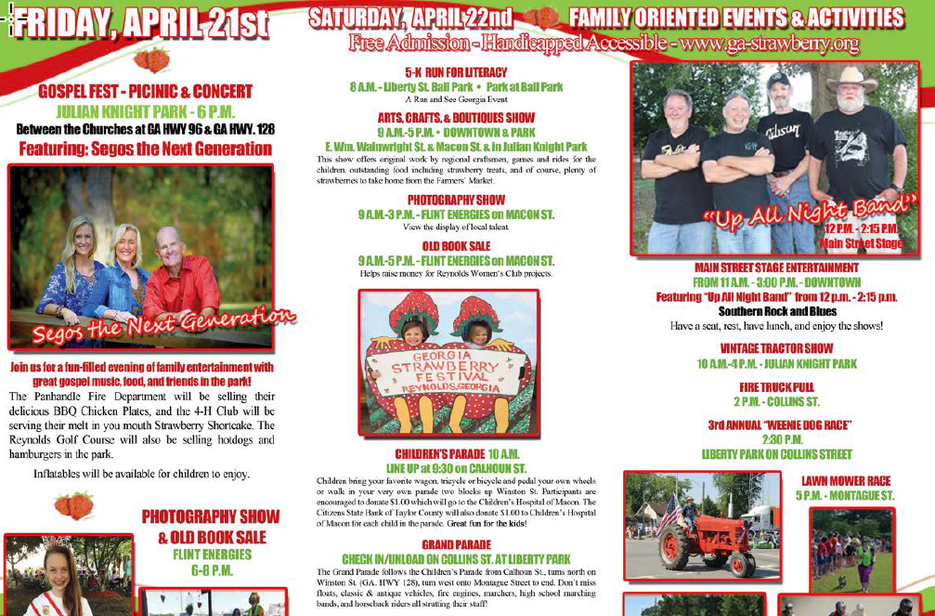 Georgia Strawberry Festival Guide